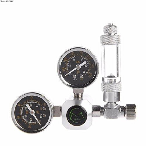 DAHLIAT | CO2 Equipment | Aquarium CO2 Control Regulator G5 / 8 Interface Check Valve Bubble Counter CO2 ()