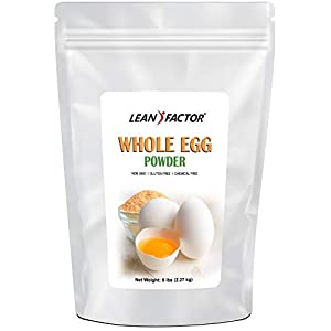 Powdered Eggs – Whole Egg Powder, White & Yolk – Ideal Dried Food For Emergency / Survival Storage & Supply – Natural…