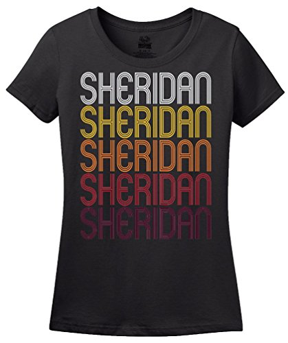 Sheridan, WY | Retro, Vintage Style Wyoming Pride T-shirt
