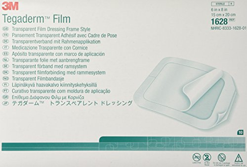 Amazon Com 3m Tegaderm Transparent Film Dressing 4 Quot X 4