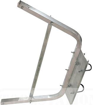 Abru - Soporte de pared para escalera con accesorios de instalación: Amazon.es: Bricolaje y herramientas