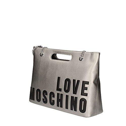 Love Moschino Borsa New Lamb Pu Argento