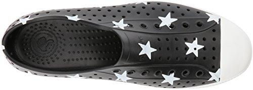Indfødte Mænds Jefferson Mode Sneaker Snuptag Sort / Knogle Hvid / Stor Stjerne 4OOWYRFO