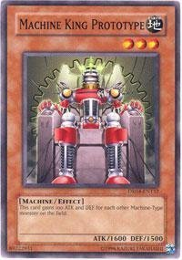 Yu-Gi-Oh! - Machine King Prototype (DR04-EN132) - Dark Revelations 4 - Unlimited Edition - Common by Yu-Gi-Oh!