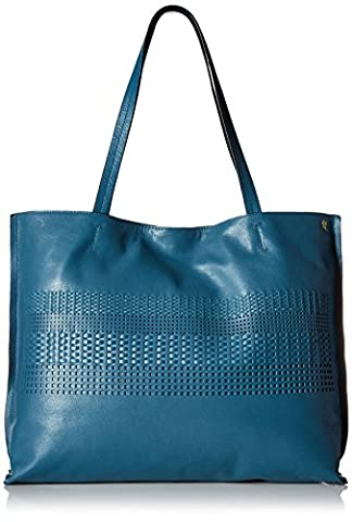 Elliott Lucca Bali '89 Jules Tote Bag, Azul Anakan, One Size - Elliott Lucca Leather Shoulder Bag
