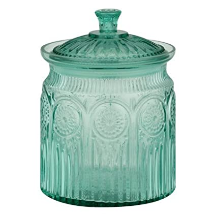 The Pioneer Woman Adeline Glass Cookie Jar, Clear | Stunning Glass Cookie Jar - Clear Product The Pioneer Woman