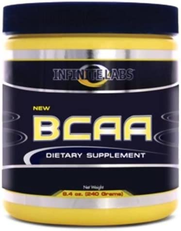 Infinite Labs BCAA Powder, 8.0-Ounce, 240 Grams, 40 Servings Per Container