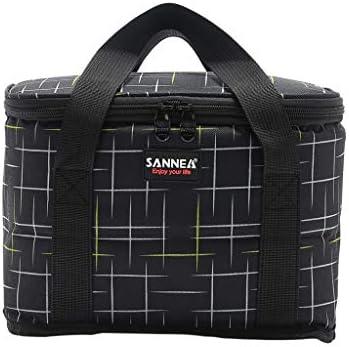 EVAEVA-bags 9.5L Kühltasche Picknicktasche, Waschbar KüHlbox Wiederverwendbare Isolierbeutel Für Lebensmittel Hält Essen Warm Oder Kalt