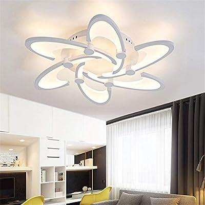 LightInTheBox 6 Lights LED Ceiling Light Painting Finish Flush Mount Lighting Fixture for Home Living Room, Bedroom Decoration Bulb Included