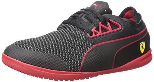 Puma Mens Changer Ignite Sf Dichiarazione Fashion Sneaker Puma Nero / Rosso Corsa