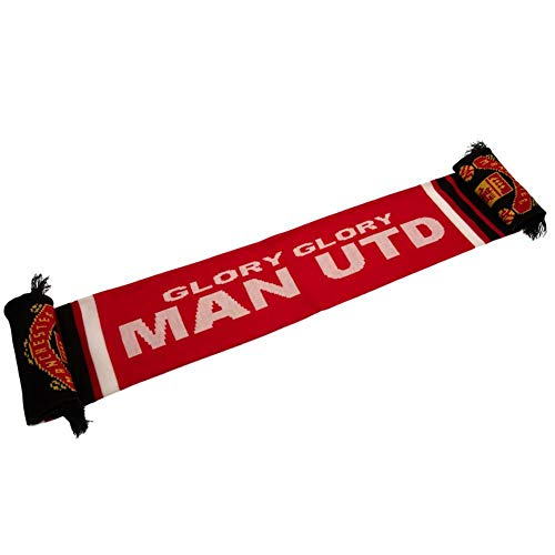 (Manchester United FC Scarf - Authentic EPL from the)