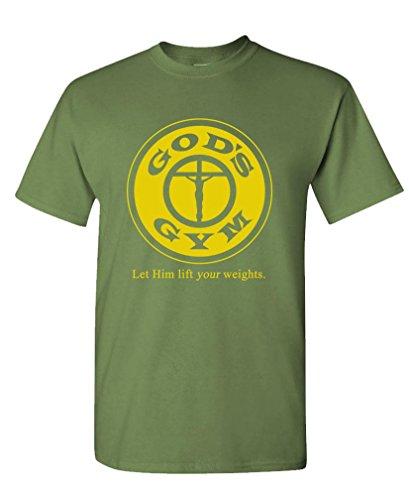 GOOZLER GODS Mens Cotton T Shirt