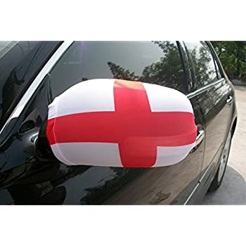 Amazoncom Evermore Product Mirror Car Cover England Flag Mirror - Alfa romeo car cover