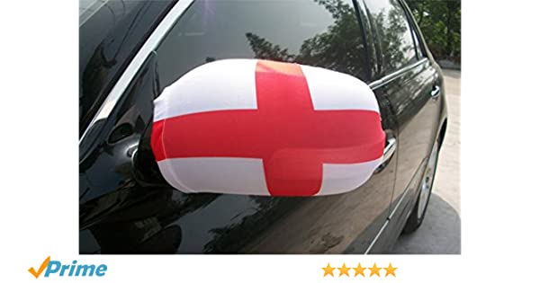 Amazon com: Evermore product Mirror Car Cover, England, Flag
