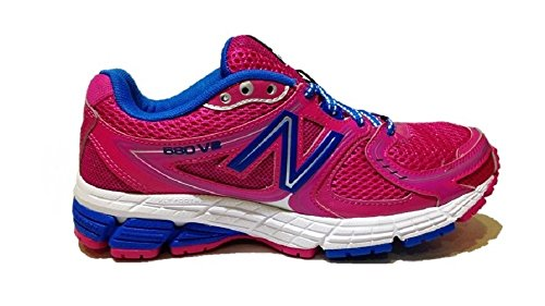 New Balance W680PU2 - zapatillas de caña baja de sintético mujer rosa - rosa