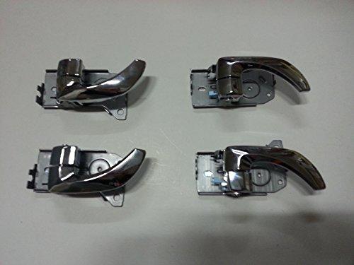 Sell by Automotiveapple, Kia Motors OEM Genuine Inside Front Rear Left Right Chrome Door Catch Molding 4-pc 1Set For 2003 ~ 2006 Kia Sorento