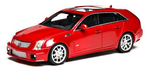 1/43 キャデラックCTS-V ワゴン 2011 クリスタルレッド 101249