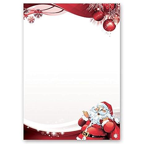Site Lettre Au Pere Noel.Papier A Motif A Lettres Noel Lettre Au Pere Noel 50 Feuille