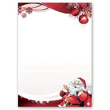 Motivpapier Briefpapier Weihnachten Brief An Den Weihnachtsmann 20