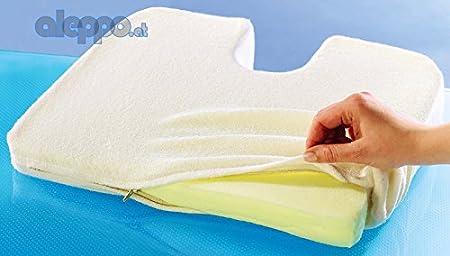 Vital cóccix postura para la espalda y funda de almohada y ...
