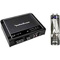 New Rockford Fosgate R500X1D 500W Mono D Car Amplifier Audio Amp + Remote + Cap