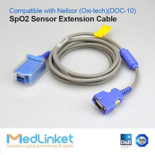 Covidien Nellcor Compatible SpO2 Adapter Cable