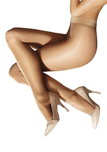 Marilyn Naked Luxe Silky Tights 40 Denier (Grey, L)
