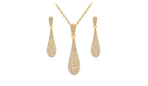 Women Necklace Pendant,Womens Pearl Necklace electroplated Two-Piece Set Alloy Diamond Set for Various Occasions Circumference 40cm5cm MYYQ