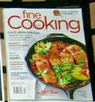 (Fine Cooking Magazine April/ May 2019)