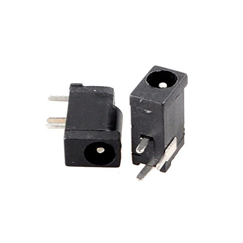 HTTX 3 Pin 5.5mm x 2.5mm Female DC Power Jack Socket Adapter 10-Pack