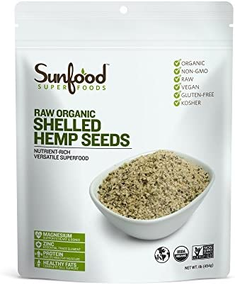 Sunfood Superfoods Organic Shelled Non GMO