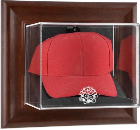 Toronto Raptors Framed Wall Mounted Logo Cap Display Case -
