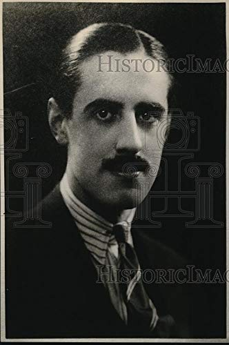 (Historic Images - 1926 Vintage Press Photo Marquis de Ruvigny who married Violet Pellay)