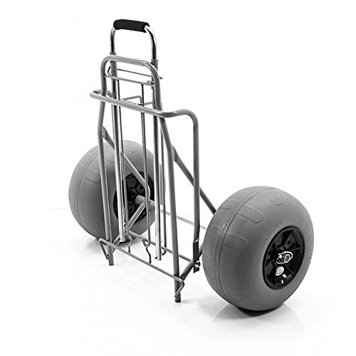 Challenger Mobility Folding Beach Cart Large Balloon Tires