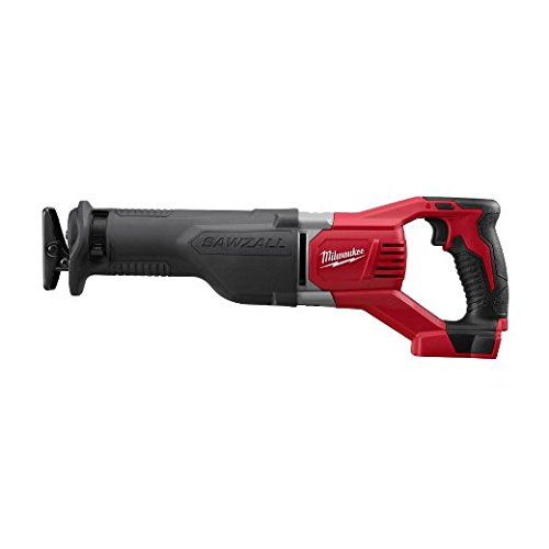 Milwaukee 2621-20 M18 18V Lithium Ion Cordless Sawzall 3,000RPM Reciprocating Saw with Quik Lok Blade Clamp and All Metal Gearbox