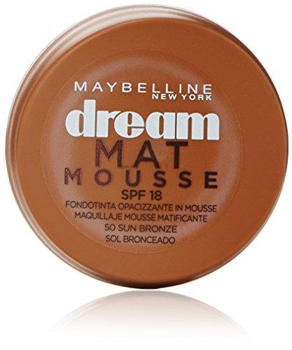 Maybelline Dream Matte Mousse 50 Sun Bronze