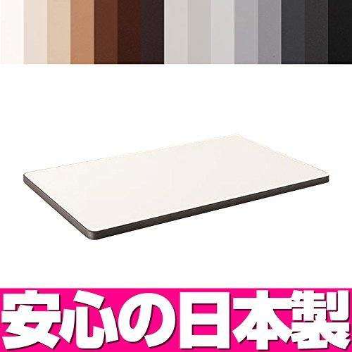 【 テーブル天板 のみ 】テーブル 天板 メラミン化粧板(ソフトエッジ巻き) W1000×D600 / テーブル 天板 日本製 ブラック K6301KN B00O1OOWFA ブラック|K6301KN K6301KN ブラック
