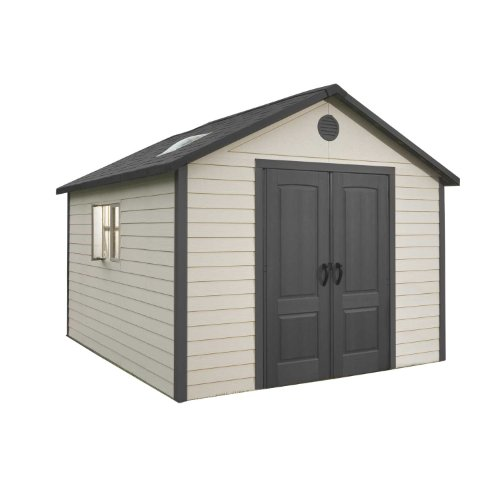 Lifetime 6415 Outdoor Storage Shed, 11 by 13.5 Feet by Lifetime