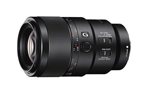 Price comparison product image Sony SEL90M28G FE 90mm f / 2.8-22 Macro G OSS Standard-Prime Lens for Mirrorless Cameras (Certified Refurbished)