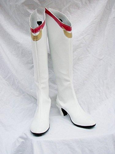 Sailor Moon Musical Usagi Tsukino Scarpe Cosplay Stivali Su Misura