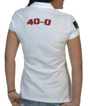 Amazon.com : 40-0 Padel Womens Polo Size Medium ...