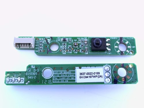 Vizio 363700220189 Television Infrared Sensor Board Genuine Original Equipment Manufacturer (OEM) part for Vizio