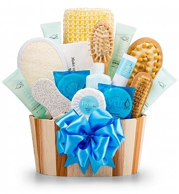 GiftTree Hydro Luxury Spa Experience Gift Basket | Premium Relaxation Gift Basket Men Women