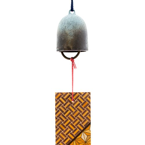 [Odawara Furin] (a wind-bell) cricket wind chimes parquet strip with brass by KASHIWAGI ART FOUNDRY