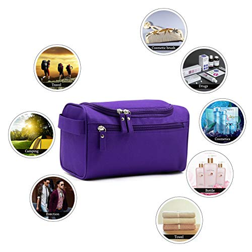 f58461af99a3 Buruis Toiletry Bag for Men and Women, Waterproof Travel Case ...