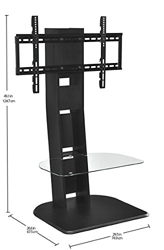Ameriwood Home Galaxy TV Stand with Mount for TVs up to 50'', Black by Ameriwood Home (Image #8)