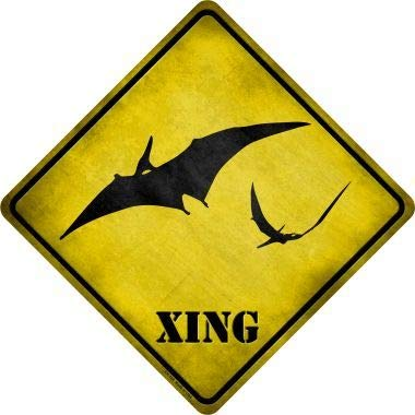 Amazon.com: Bargain World Pterodactyls Xing - Cartel de ...