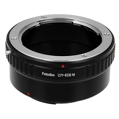 Fotodiox Lens Mount Adapter, Contax/Yashica (C/Y) Lens to EOS-M Camera Body ()