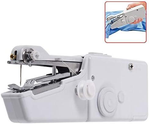 Mini máquina de coser eléctrica puntada hogar portátil de viaje ...