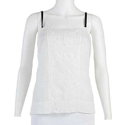 Calvin Rucker Womens Lace Detail Camisole White Extra Small ()